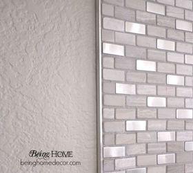 Super Simple DIY Tile Backsplash Hometalk