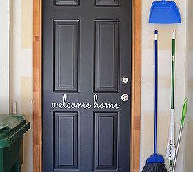 Dress Up Your Garage Entry Door, Doors, Foyer, Garages