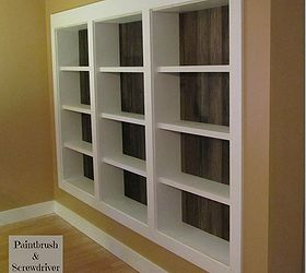 built in bookcases featuring re claimed pine flooring home decor shelving ideas storage & Built-in Bookcases Featuring Re-Claimed Pine Flooring | Hometalk