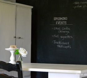 Great How To Make A Chalkboard Wall In Your Home Office Craft Room, Chalkboard  Paint,