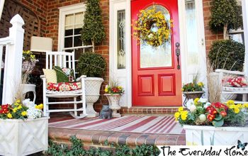 A Southern Porch Reveal  for Spring 2014