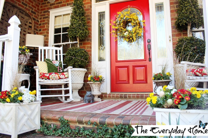 """Our """"little porch that could."""""""
