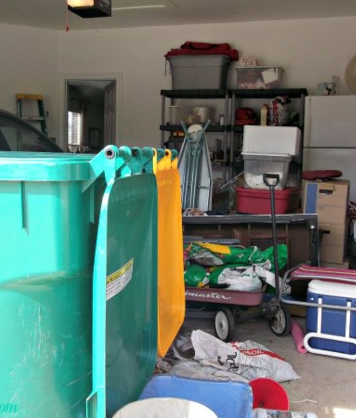a garage makeover, cleaning tips, garages, organizing, The island of misfits