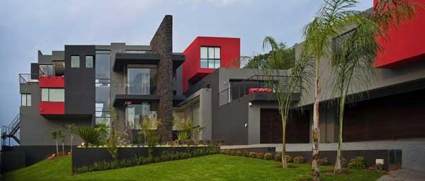 bold volumetric architecture house lam, architecture, home decor