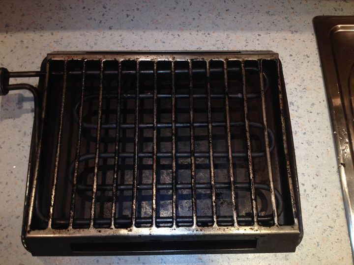 i have grill cleaning problem someone any suggestions, cleaning tips, outdoor living, After Cleaning