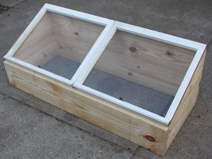 Build And Use Your Own Cold Frame To Grow Veggies Now - On The Cheap ...