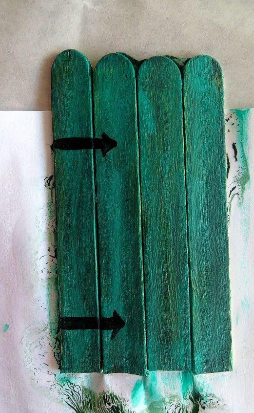easy popsicle stick door