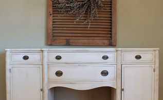 antique buffet old ochre coco, chalk paint, painted furniture, AFTER