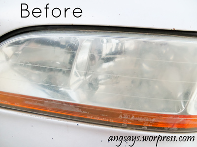 how to clean headlights diy, cleaning tips