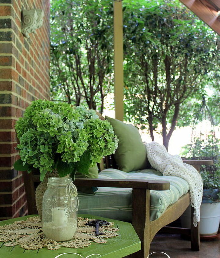 side table paint makeover, outdoor furniture, outdoor living, painted furniture, patio