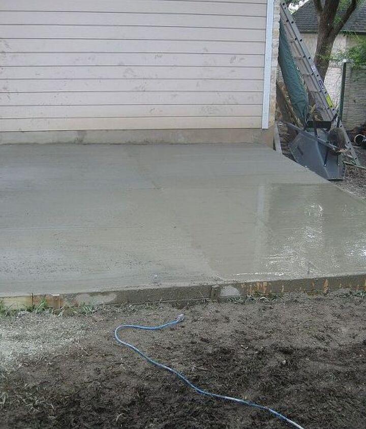 Full slab poured