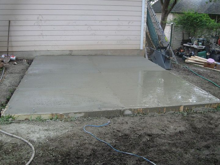 Full slab poured