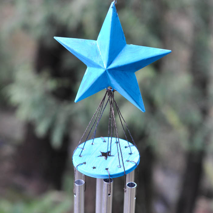 And voila! A wind chime is born!