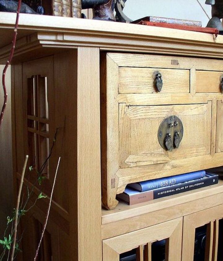 Beech Cabinet with Craftsman Detail