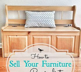 Downsizing How To Sell Furniture On Craigslist, Painted Furniture