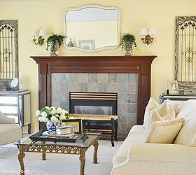My Traditional Meets French Country Living Room Makeover, Home Decor, Living  Room Ideas