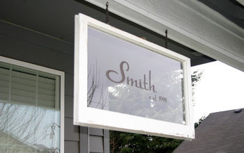 Family Established Porch Signs