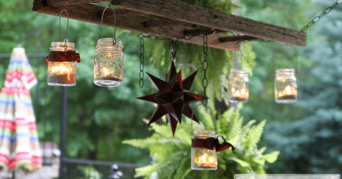 How to create a mason jar patio chandelier hometalk workwithnaturefo