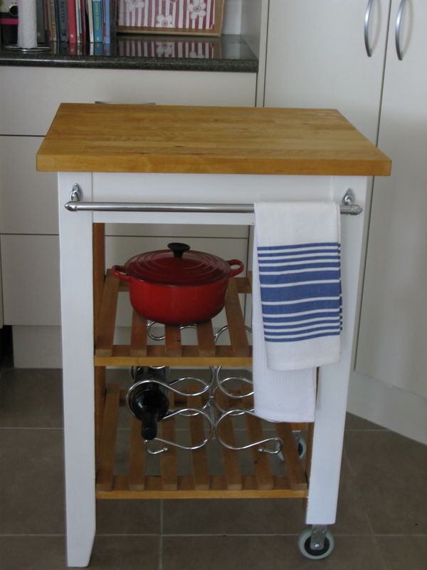 Finished and dressed! - towel rail added