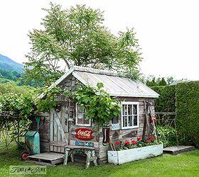 The Little Rustic Garden Shed That Tells A Story, Flowers, Gardening,  Outdoor Living