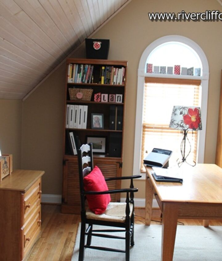 Here's how the reorganized/redone home office area looks today.
