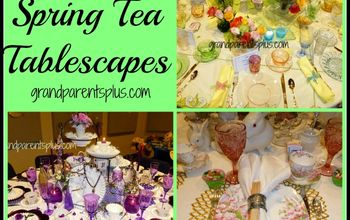 10 Spring Tea Tablescapes