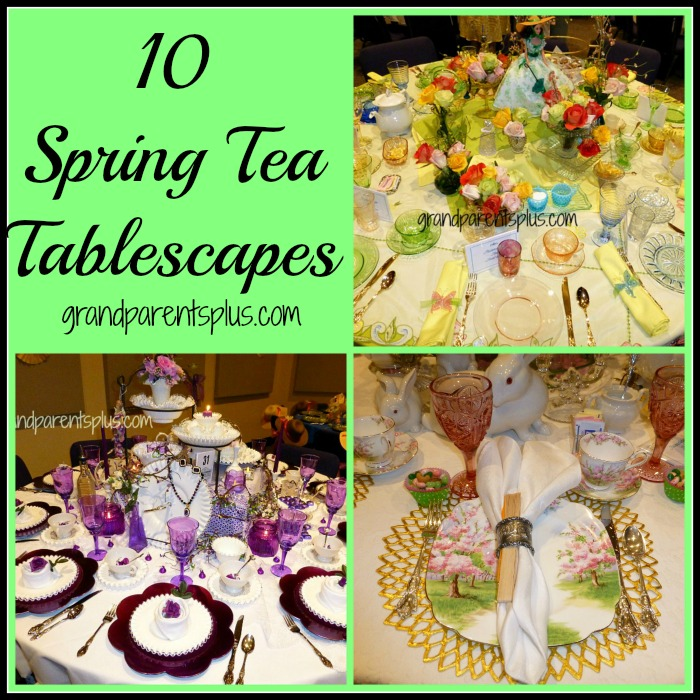 A variety of Spring Tablescapes!
