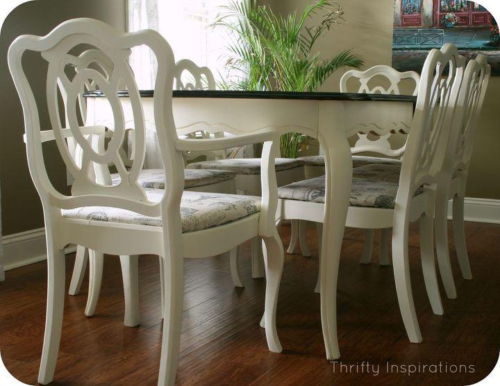 French Provincial Table Set Makeover   Hometalk