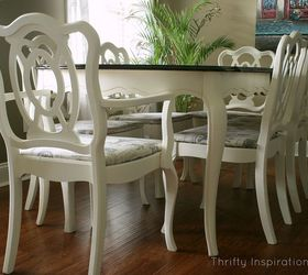 French Provincial Table Set Makeover, Chalk Paint, Home Decor, Living Room  Ideas,