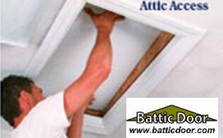 attic access insulation kits for attic pull down ladders and stairs, products, E Z Hatch attic access door R 42 22x30 199