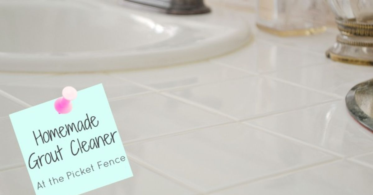Homemade Grout Cleaner Put to the Test