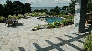 q landscaping hardscapes, landscape, Techo Bloc Slabs this one is called Inca it is similar to Aberdeen
