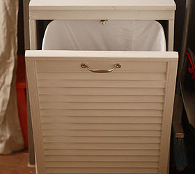 Charmant Tilt Out Trash Cabinet From Salvaged Shutter, Doors, Kitchen Cabinets,  Woodworking Projects,