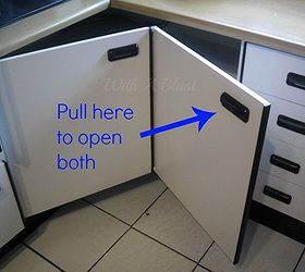 Create Easy Access To The Kitchen Corner Cabinets, Cleaning Tips, Kitchen  Cabinets, Kitchen