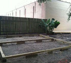 Backyard Deck In New Orleans, Decks, Diy, Gardening, Outdoor Living, Urban