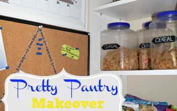 give your pantry a pop of pretty in one hour or less, cleaning tips, closet, Get Organized and Makeover your Pantry in One Hour or Less