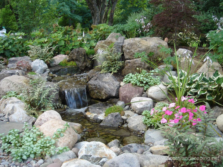 Pondless Waterfalls by Acorn Certified Aquascape Contractors of Rochester NY.