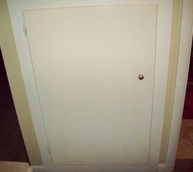 working on updating the ugly linen closet doors doors Before & Working on updating the ugly linen closet doors. | Hometalk