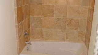 travertine in wet areas, flooring, kitchen backsplashes, tile flooring, tiling, tub suround and floor