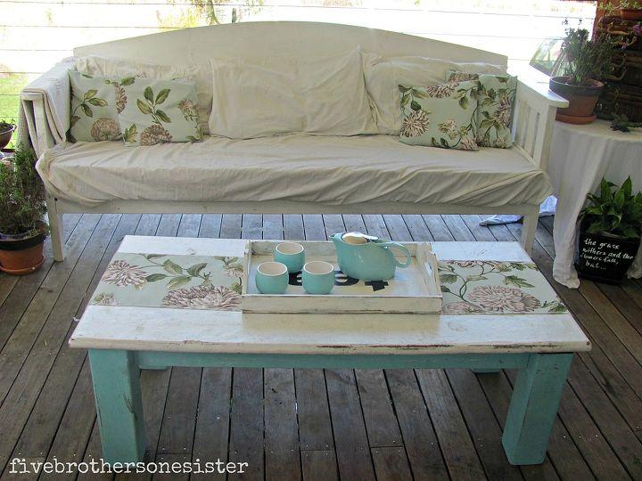 veranda, decks, outdoor living, day bed on veranda