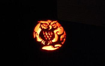 pumpkins for my girls, seasonal holiday decor, Owl