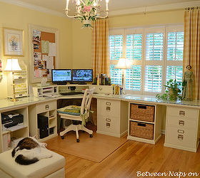 Building A Pottery Barn Inspired Home Office, Craft Rooms, Home Office,  There S A