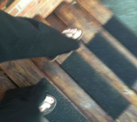 Super Simple Slippery Stair Solution, Decks, Home Maintenance Repairs,  Shingles