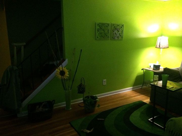 placement issues, home decor, living room ideas, painted furniture, Another wall that is in progress