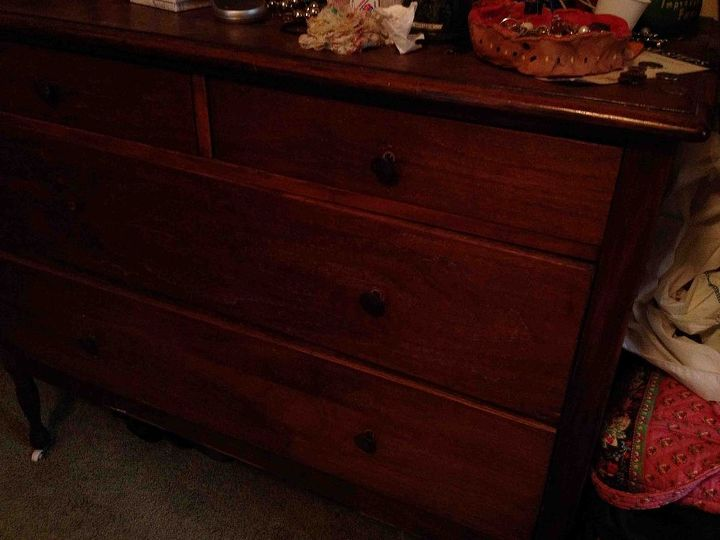 what should i do, painted furniture, Dresser