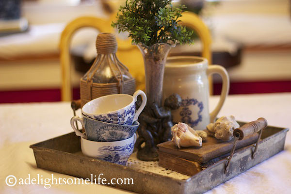 summer is, home decor, dining table vignette