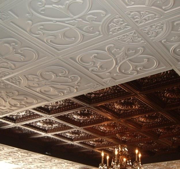 Ceiling tiles remodeling DIY home office kitchen bedroom ...
