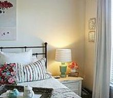 adding cottage y colors for a fresh and modern country look, bedroom ideas, home decor