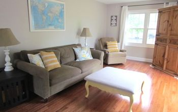 how to save money and live without cable, entertainment rec rooms, Our family room the TV is hiding in the corner