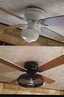 Diy ceiling fan redo hometalk diy ceiling fan redo lighting repurposing upcycling before and after aloadofball Image collections